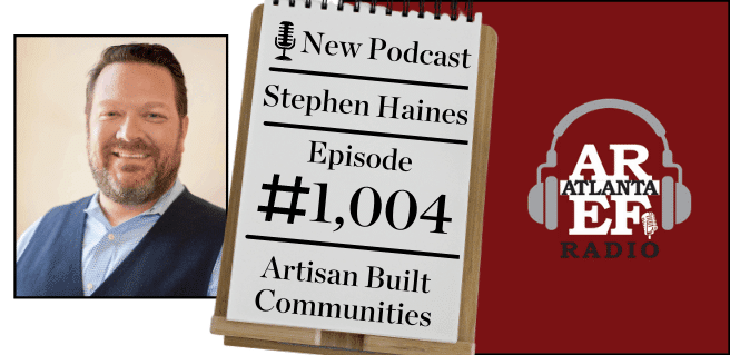 Stephen Haines with Artisan Built Communities