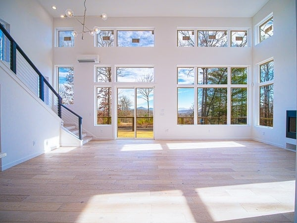 Great room with huge oversized windows and transoms