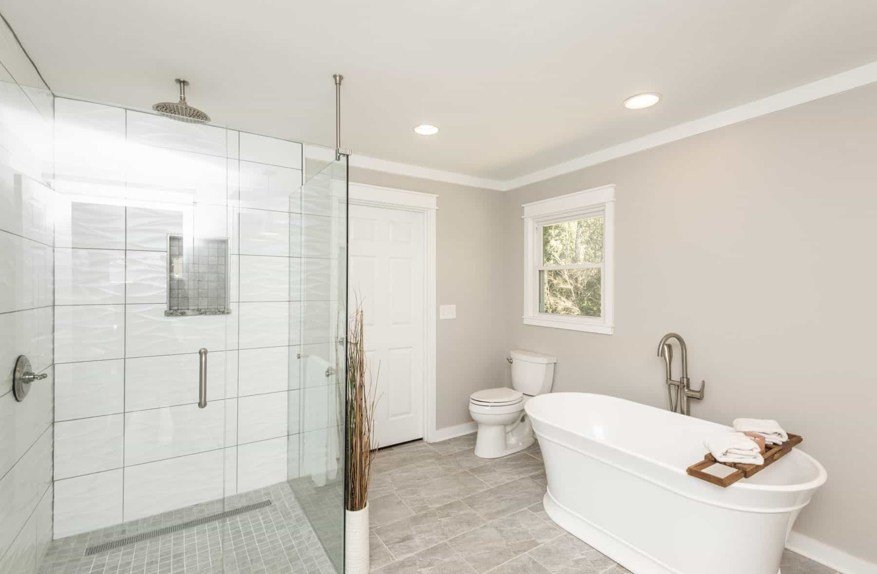 new owner's bath home addition at home in Cartersville