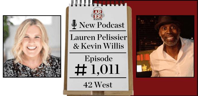 Lauren Pelissier + Keven Willis with 42 West