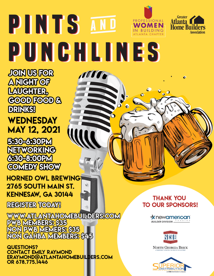 Pints and Punchlines Flyer JPG