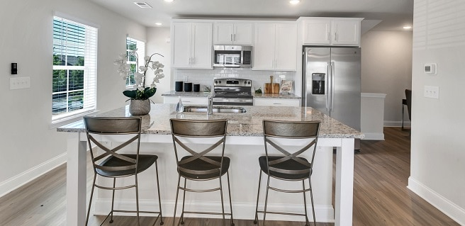Build to Rent Success Sweetwater Springs Kitchen