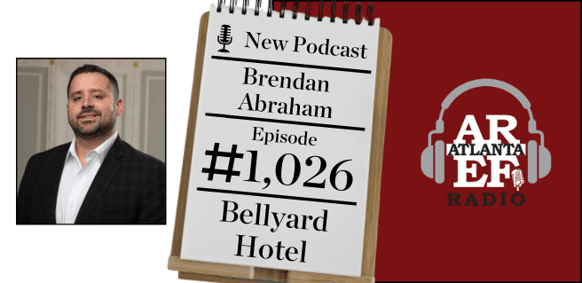 Brendan Abraham with Bellyard Hotel