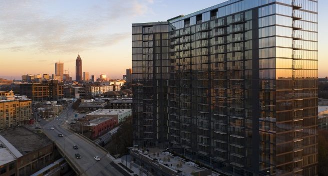 Seven88 West Midtown luxury high rise condo building