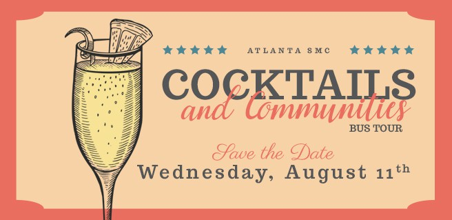 Atlanta SMC Cocktails and Communities Agent Bus Tour