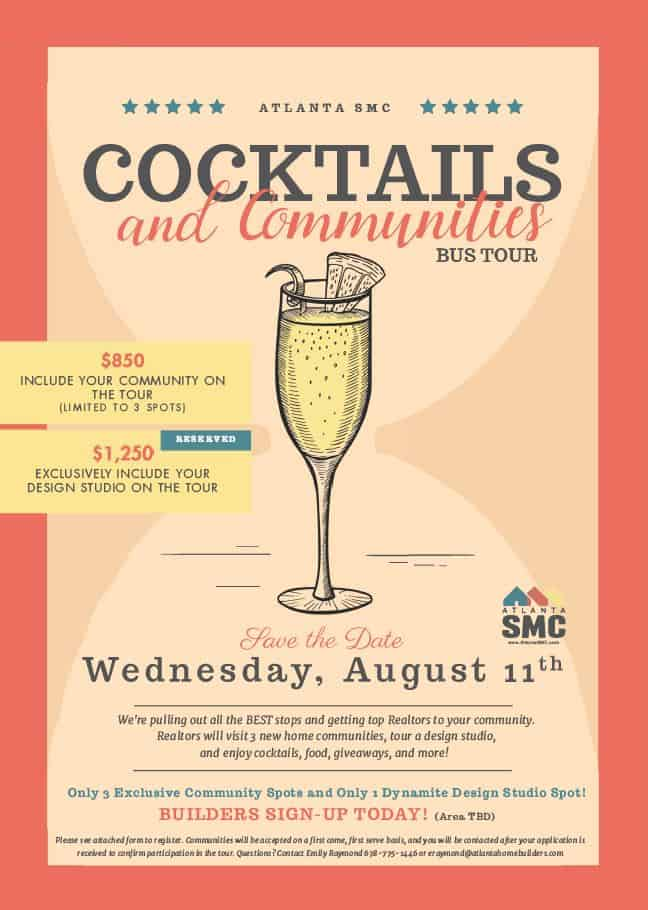 Atlanta SMC Seeking Communities for Cocktails and Communities Bus Tour