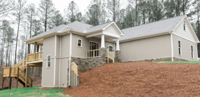 Womack Custom Homes Completes Custom New Home in Cartersville Area