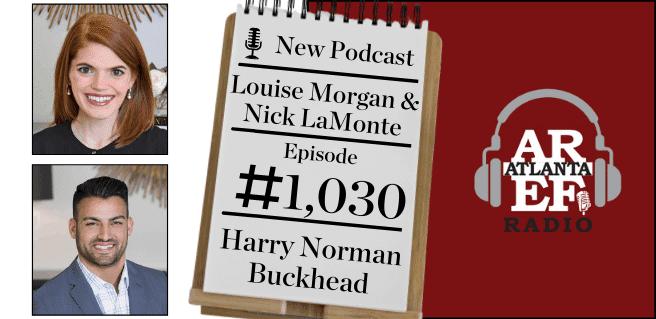 Louise Morgan & Nick Lamonte with Harry Norman Buckhead (1)