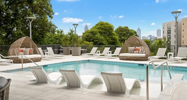 Seven88 West Midtown Pool Deck