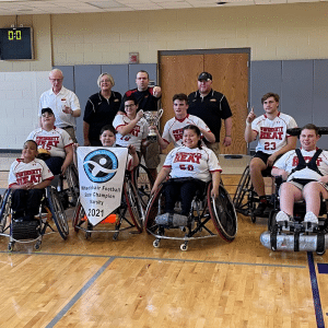 Photo of one of AAASP's teams in their adapted sports programs.