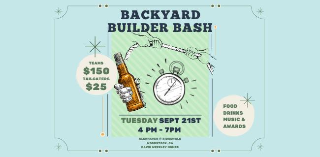 Backyard Builder Bash