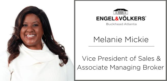 Melanie Mickie joins Engle & Volkers Buckhead Atlanta