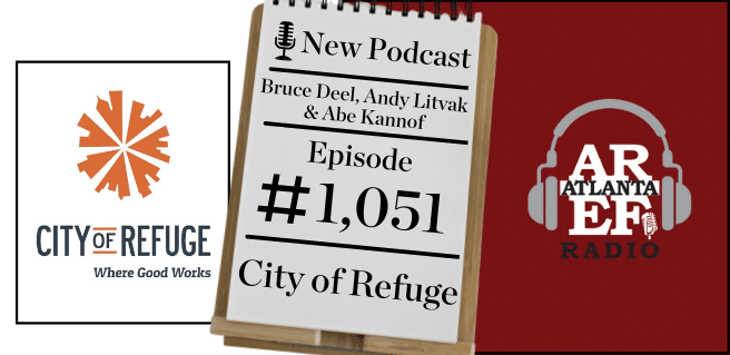 graphic advertising city of refuge and nelson mullins on radio