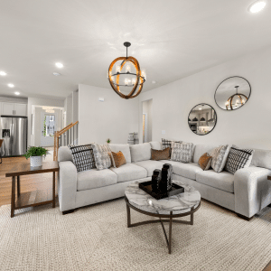 a photo of a gathering space in a home located in reverie at east lake