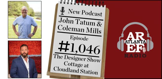 graphic advertising cloudland station on radio