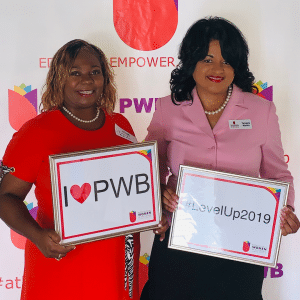 photo of Judy Mapp at a PWB event