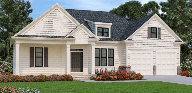 peachtree residential home exterior reflecting popular exterior design trends
