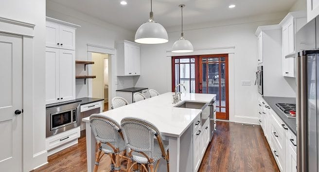 Atlanta kitchen renovation by Level Craft construction