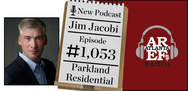 radio graphic advertising jim jacobi , president of parkland communities inc. on the all about real estate segment