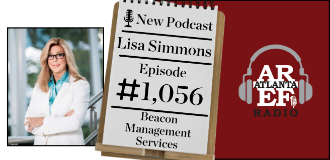 Lisa Simmons with Beacon Management Services on radio for the All About Real Estate Segment