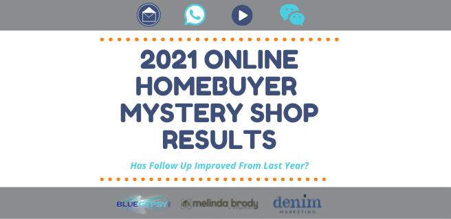 2021 Online Homebuyer Mystery Shop